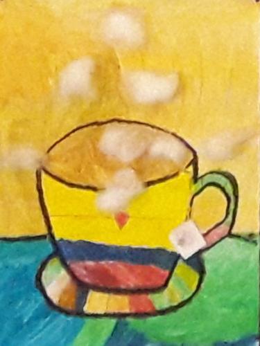 Januar - Eine heiße Tasse Tee an kalten Tagen