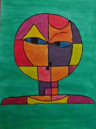 nach P. Klee - Senecio 3