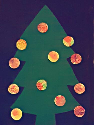 Dezember - Weihnachtsbäume